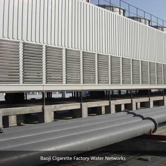Baoji Cigarette Factory Water Networks