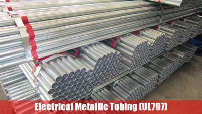 Electrical Metallic Tubing (UL797)
